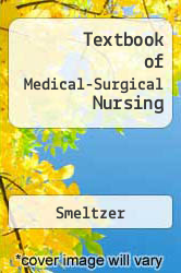 Cover of Textbook of Medical-Surgical Nursing 8 (ISBN 978-0397552658)