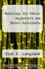 cover of Radiology for Dental Hygienists and Dental Assistants