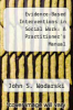 cover of Evidence-Based Interventions in Social Work: A Practitioner`s Manual