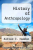 cover of History of Anthropology (1st edition)