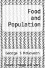 cover of Food and Population