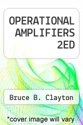Cover of OPERATIONAL AMPLIFIERS 2ED 2 (ISBN 978-0408003704)