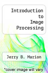 Cover of Introduction to Image Processing  (ISBN 978-0412378904)