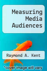 Cover of Measuring Media Audiences EDITIONDESC (ISBN 978-0415082907)