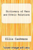 cover of Dictionary of Race and Ethnic Relations (4th edition)