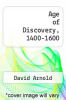 cover of Age of Discovery, 1400-1600 (2nd edition)