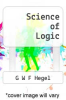cover of Science of Logic (1st edition)