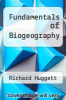 cover of Fundamentals of Biogeography (2nd edition)