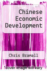 Cover of Chinese Economic Development EDITIONDESC (ISBN 978-0415373470)