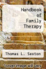 cover of Handbook of Family Therapy (2nd edition)