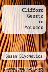 Cover of Clifford Geertz in Morocco EDITIONDESC (ISBN 978-0415518161)
