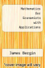 cover of Mathematics for Economists with Applications