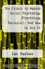 cover of The Crisis in Modern Social Psychology (Psychology Revivals): And How to End It