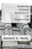 cover of Promoting Cultural Sensitivity in Supervision (1st edition)