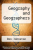 cover of Geography and Geographers (7th edition)