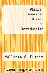 Cover of African American Music: An Introduction EDITIONDESC (ISBN 978-0415941372)
