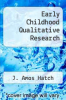 cover of Early Childhood Qualitative Research