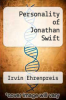 cover of Personality of Jonathan Swift