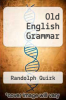 cover of Old English Grammar (2nd edition)