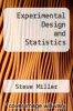 cover of Experimental Design and Statistics