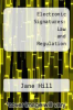 cover of Electronic Signatures: Law and Regulation