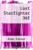 cover of Last Starfighter 36f