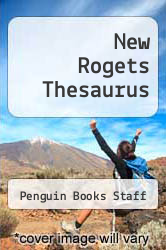 Cover of New Rogets Thesaurus EDITIONDESC (ISBN 978-0425084564)