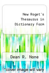 Cover of New Roget