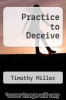 cover of Practice to Deceive
