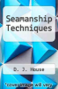 cover of Seamanship Techniques