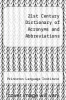 cover of 21st Century Dictionary of Acronyms and Abbreviations