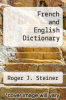 cover of French and English Dictionary