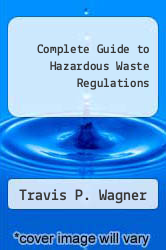 Cover of Complete Guide to Hazardous Waste Regulations 2 (ISBN 978-0442003555)