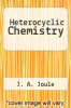 cover of Heterocyclic Chemistry