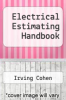 cover of Electrical Estimating Handbook