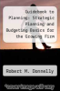 cover of Guidebook to Planning: Strategic Planning and Budgeting Basics for the Growing Firm