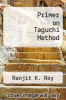 cover of Primer on Taguchi Method
