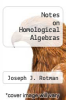 cover of Notes on Homological Algebras