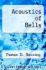 cover of Acoustics of Bells