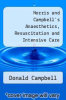 cover of Norris and Campbell`s Anaesthetics, Resuscitation and Intensive Care (6th edition)