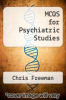 cover of MCQS for Psychiatric Studies