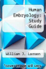 cover of Human Embryology: Study Guide (1st edition)