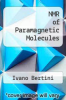 cover of NMR of Paramagnetic Molecules (2nd edition)