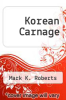 cover of Korean Carnage