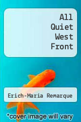 Cover of All Quiet West Front EDITIONDESC (ISBN 978-0449231807)