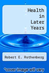 Cover of Health in Later Years EDITIONDESC (ISBN 978-0451029003)