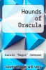 cover of Hounds of Dracula