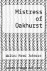 cover of Mistress of Oakhurst