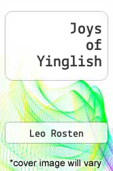 Cover of Joys of Yinglish EDITIONDESC (ISBN 978-0451173782)