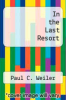 cover of In the Last Resort